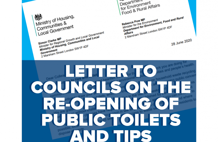 Letter to councils