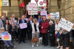 PROTEST: The Calderdale Local Plan has been fiercely argued with the Conservative group in particular voicing concerns
