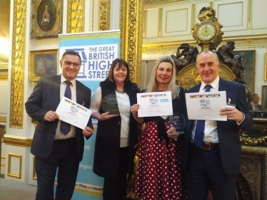 Working with businesses to support our high streets