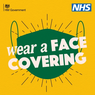 wear a face covering!